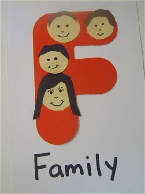 family themed crafts for best 25 letter f craft ideas on letter f fox