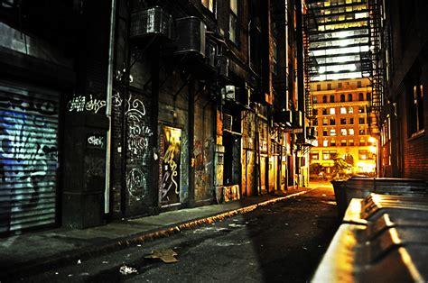 Night Sky Wall Mural dark alley by andrew 23 on deviantart