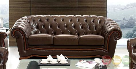 chesterfield tufted leather sofa tufted chesterfield sofa brown italian leather sofa