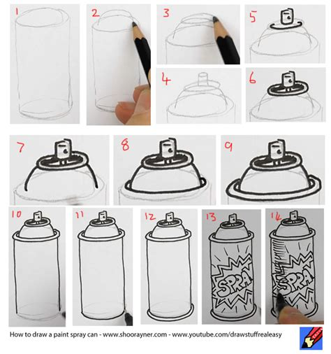 spray paint lesson plan howtodrawasparypaintcan lesson ideas 5 6