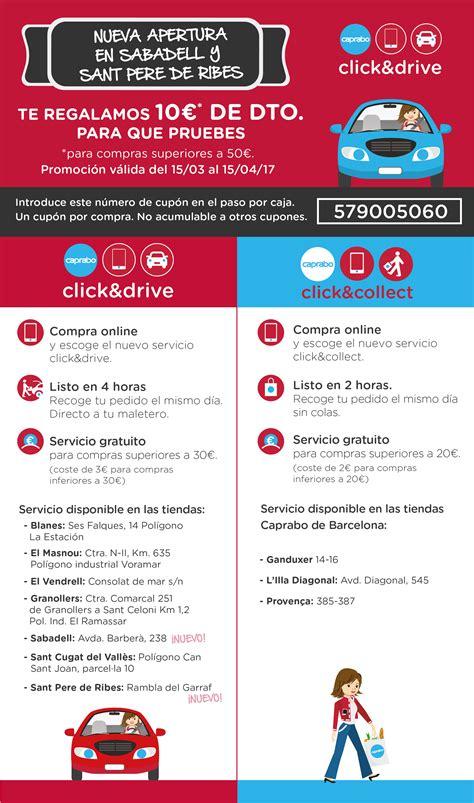 caprabo a casa online click collect click drive 161 compra online y recoge tu