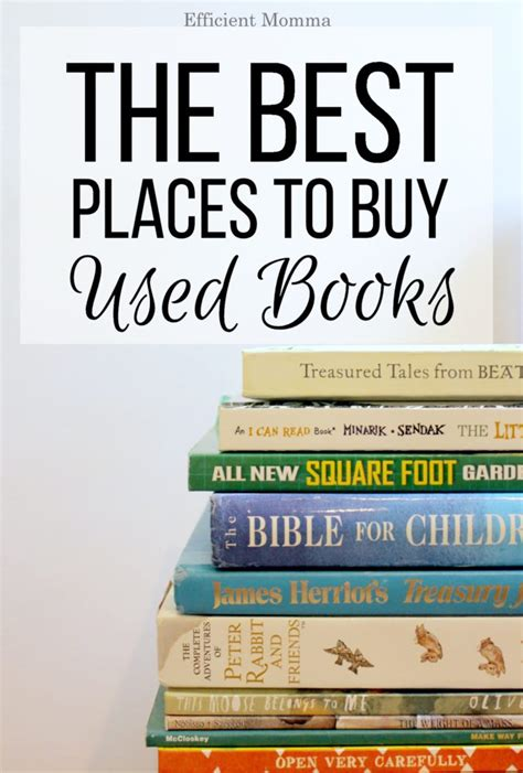 best place to buy the best places to buy used books efficient momma