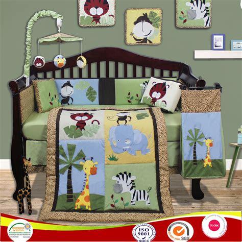 jungle cot bedding sets baby boy bedding set jungle animal cot bedding sets crib