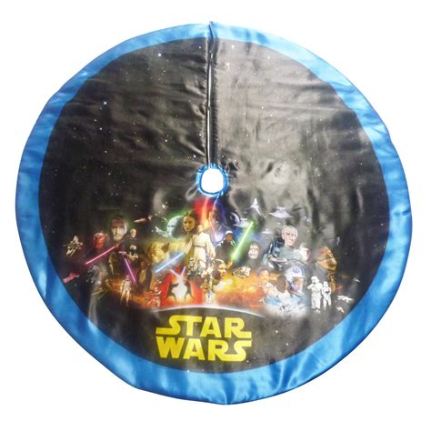 tree skirt blue wars 48 quot wars tree skirt blue trim seasonal