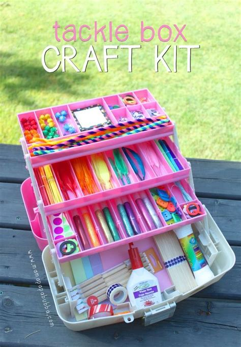 craft kit for tackle box craft kit supplies gift for