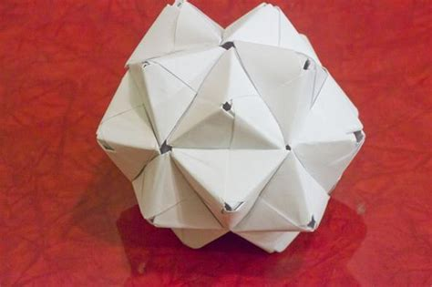 3d origami figures modular origami how to make a cube octahedron