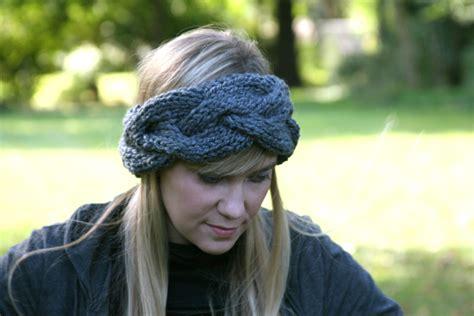 knit headband patterns braided knit headband patterns a knitting