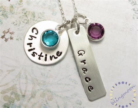how to make personalized jewelry personalized jewelry charm necklaces for personalized