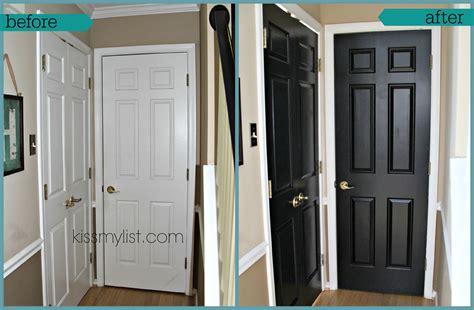 interior painted doors painting interior doors black my list