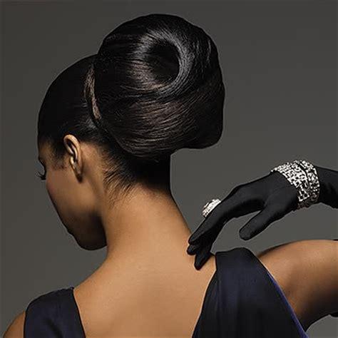 black hair buns black bun hairstyles vissa studios