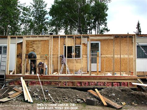 what to do with room in house mobile home additions guide footers roofing and