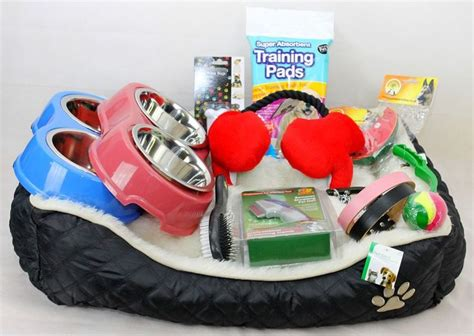 bed toys details about puppy starter kit for
