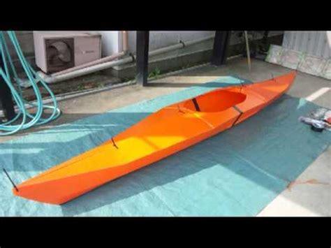 kayak origami oru kayak プラダンでカヤックを作る