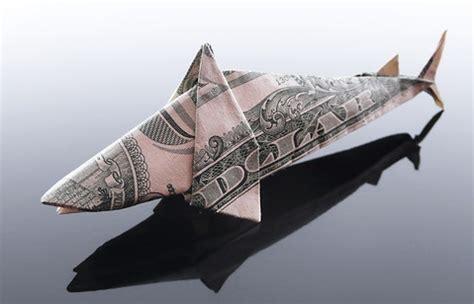 dollar origami shark won park s origami money shark paper folding