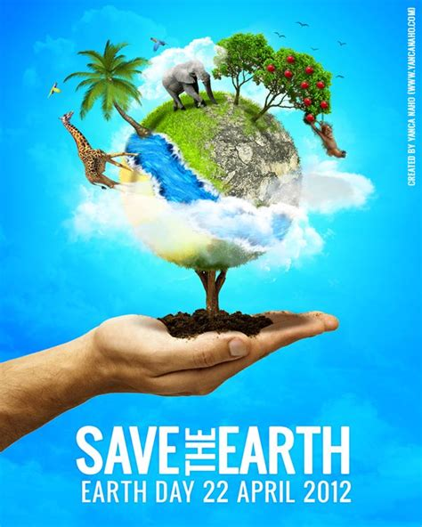 theme save earth save the earth personal poster personal projects