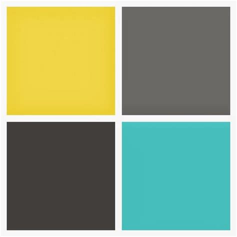 paint colors yellow and grey best 25 yellow gray turquoise ideas on yellow