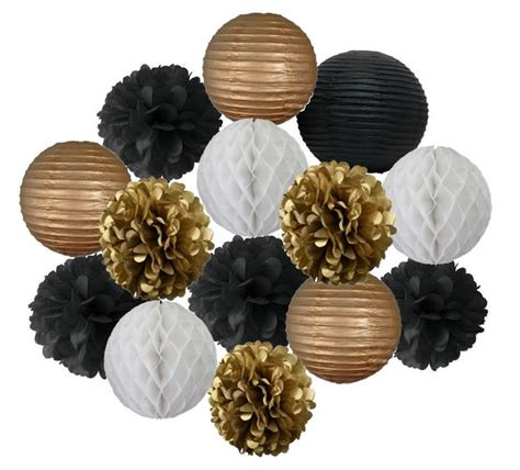 gold and white decorations 25 best ideas about black decorations on