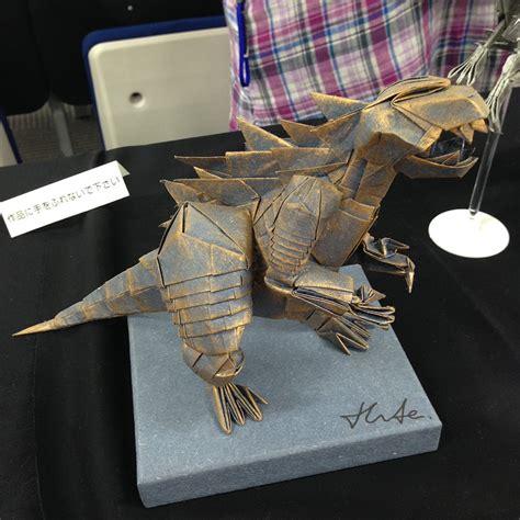 godzilla origami this week in origami 21st origami tanteidan convention
