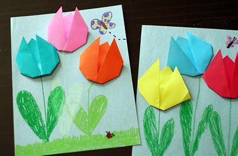 origami activity for 15 easy origami patterns for