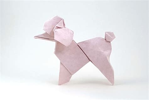 origami poodle origami dogs page 6 of 8 gilad s origami page
