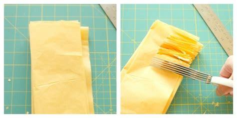 thick tissue paper for crafts tissue paper fringe garlands craftbnb