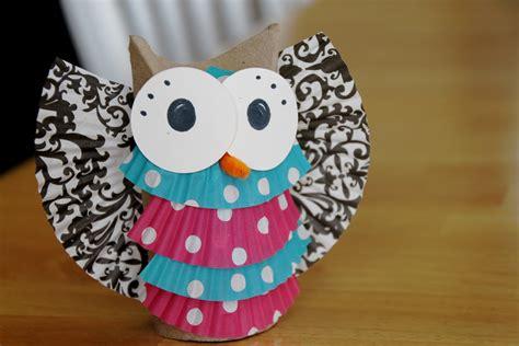 owl craft toilet paper roll toilet paper roll owl craft car interior design