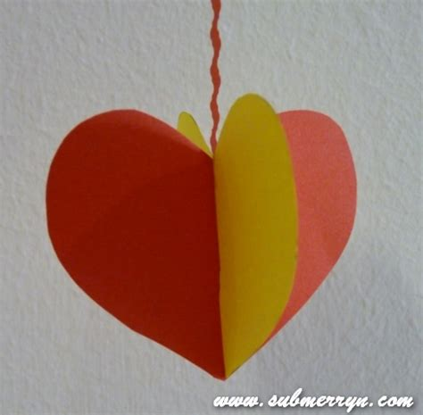 paper craft hearts crafty crafted 187 archive crafts for children