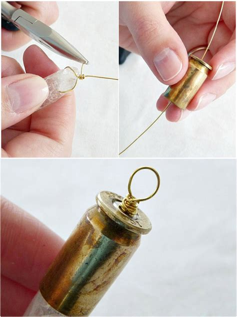 Fascinating Jewelry Craft Diy Bullet Necklace 183 410