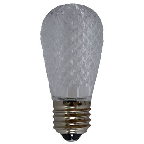 cool led light bulbs led s14 light bulb medium base faceted bulb cool