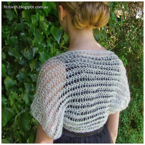 knit loom patterns fitzbirch crafts loom knit shimmery shrug