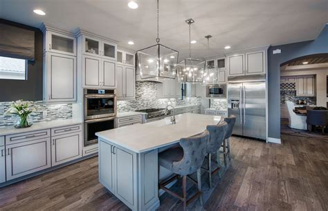 trends kitchens 5 kitchen design trends to take from model homes