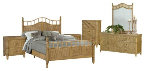 wicker bedroom furniture sets bali tropical 6 rattan and wicker bedroom furniture