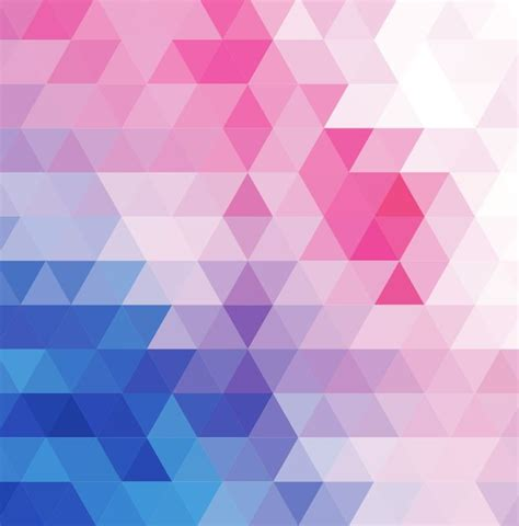 mosaic background vector abstract multicolored triangular mosaic background