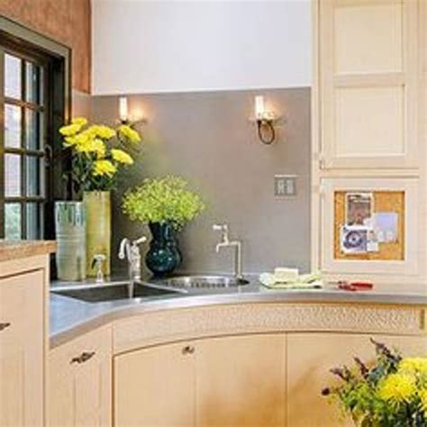 kitchen sinks corner how to decorate a corner kitchen sink 5 ideas for amazing