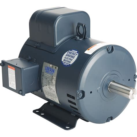 5 Hp Electric Motor leeson reversible electric motor 5 hp 3450 rpm 208 230