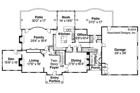 european floor plans edgewood 30 313 estate home plans associated designs