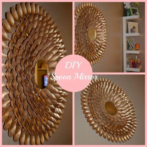 mirror decoration diy spoon mirror wall decor