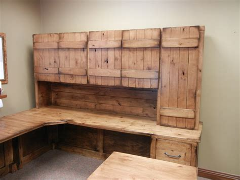 rustic home office desks rustic office desk farmhouse home office omaha by