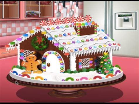 juegos de cocinar pasteles gratis con sara juegos de cocina con sara casita de gengibre juegos de