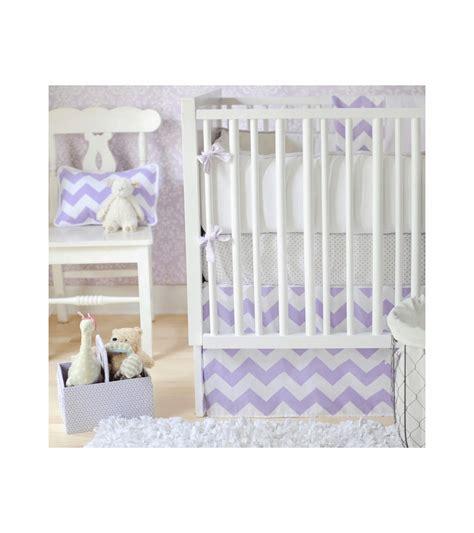 zig zag crib bedding set new arrivals zig zag lavender 2 baby crib bedding set
