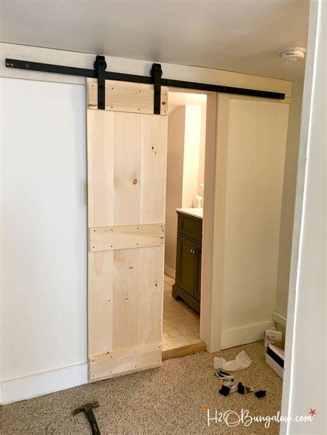 interior barn doors diy interior diy barn door tutorial h20bungalow