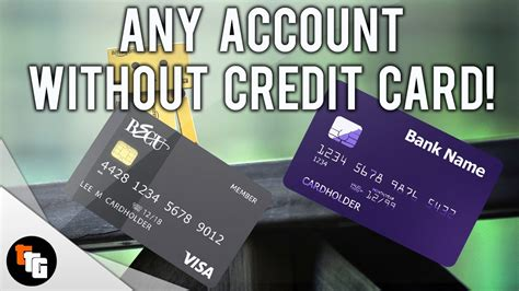 make account without credit card how to make any account without a credit card