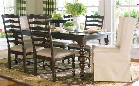 paula deen dining room sets paula deen home tobacco rectangular extendable dining room