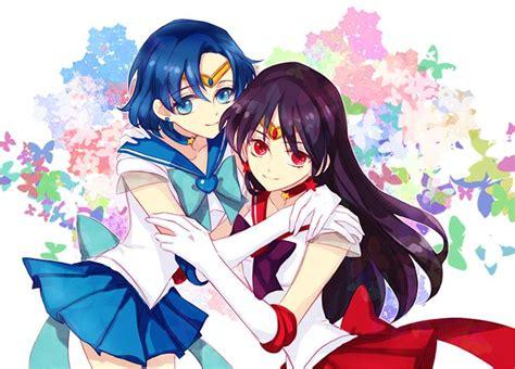 sailor moon yuri sailor moon sailor mercury ami mizuno sailor mars rei