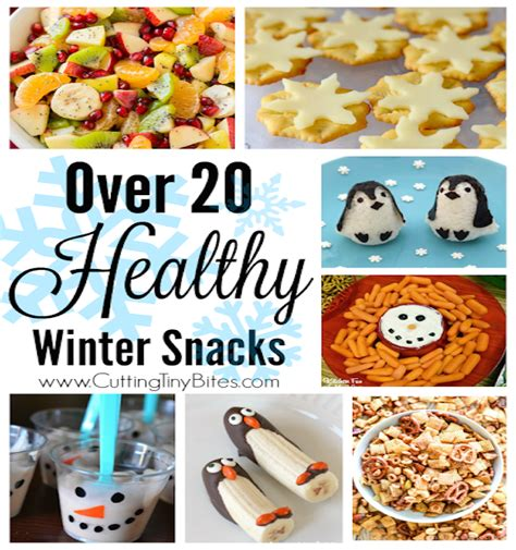 winter food crafts for healthy winter snacks edible crafts