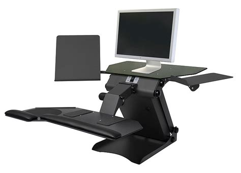 computer stand for desk desktop stand up computer stand review and photo
