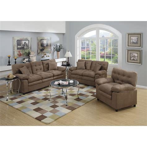 3 living room set poundex bobkona colona 3 living room set reviews