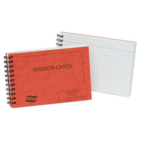 make revision cards revision cards from ocado