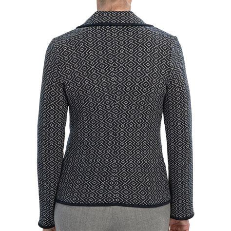 knit blazer womens pendleton jacquard knit blazer for save 81