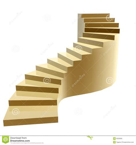 steps in golden steps to success royalty free stock image image